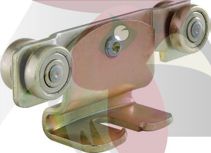 30X28X2mm Ray İçin Mafsallı Yük Taşıyıcı Askısı