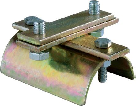 30x28x2mm Ray İçin Tavan Vinci Başlangıç -Sabit-  Kablo Taşıyıcı