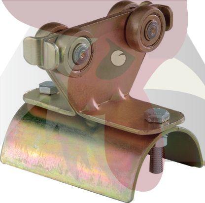 30x28x2mm Ray İçin Tavan Vinci Hareketli -Ara- Kablo Taşıyıcı