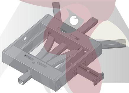40x35x2,5mm Ray için 45 Derece 3 Yöne Dönüş Dönüş İstasyonu - Pnömatik