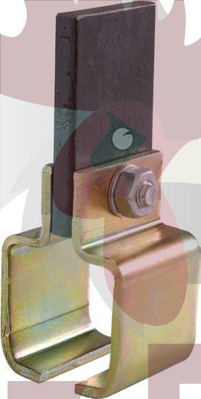 48,5x44x3mm Ray İçin Lama'lı -Kaynaklı- Bağlantı Parçası