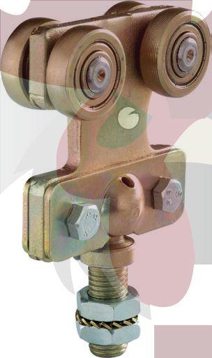 48,5x44x3mm Ray İçin Mafsallıi Taşıyıcı Askısı