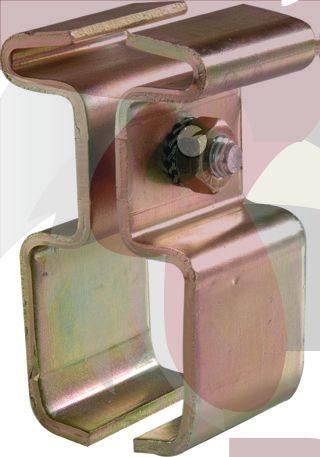 65x61x4mm Ray İçin NPI100 Bağlantı Parçası
