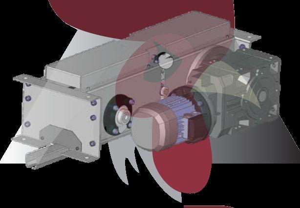48,5x44x3mm Ray İçin Redüktörlü Motor Ünitesi