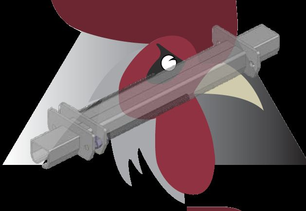 Konveyör Sistemi İçin Zincir Gerdirme Ünitesi (48,5x44x3mm Ray İçin)