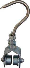 Inox Kancalı Ürün Taşıma Askısı - 12mm Kancalı