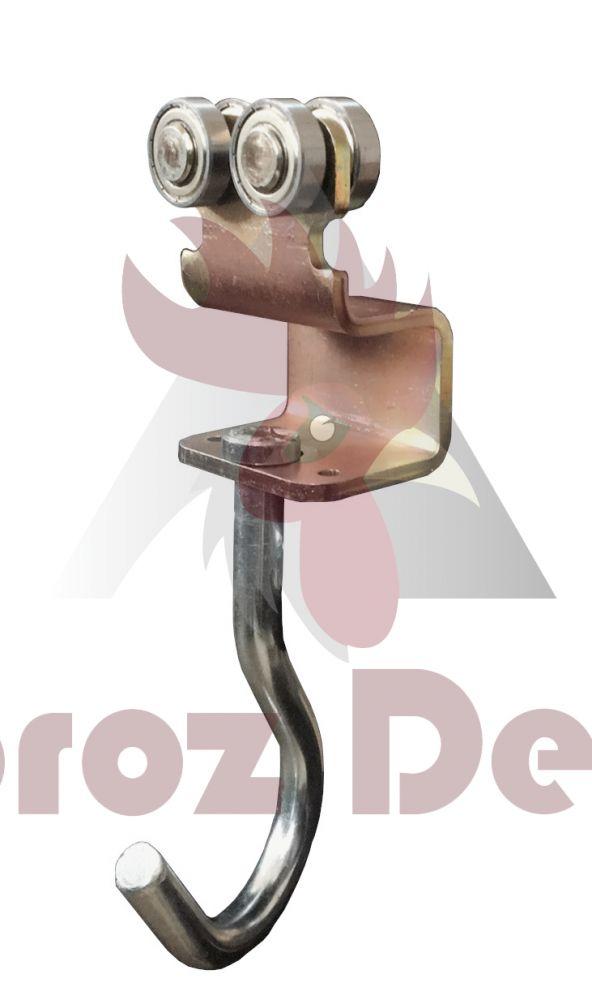 40x35x2,5mm Ray İçin Kancalı Yük Taşıyıcı